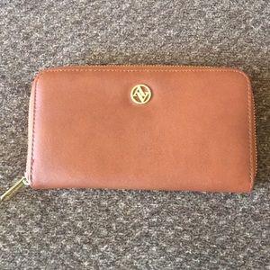 Adrienne Vittadini Brown Wallet